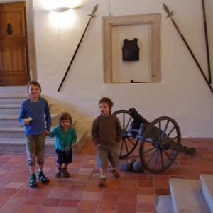 Navštívili jsme hrad Roštejn.