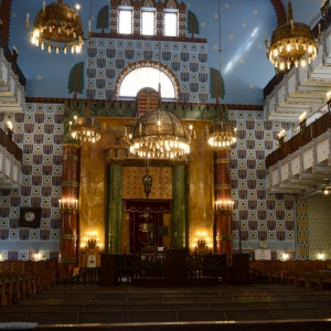 Synagoga jako z papíru.