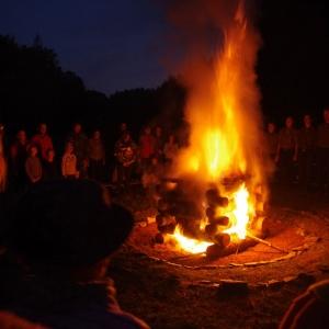 Slavnostní oheň 40 let  K.T.O.