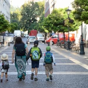 Procházka ulicemi Budapeště.