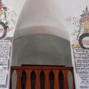Synagoga Humpolec, nápisy.