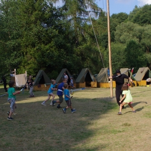 Poslední útok ninjů na tábor.